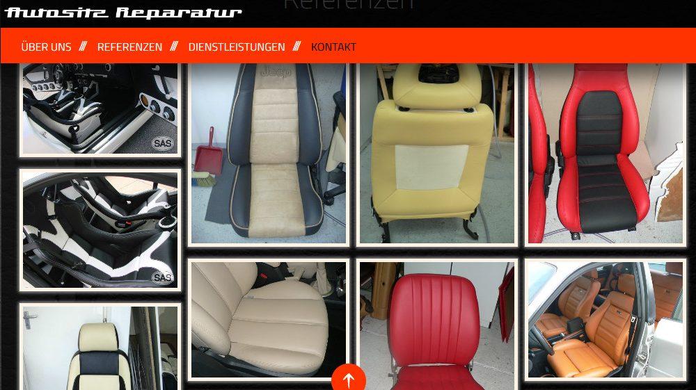 Autositz Reparatur